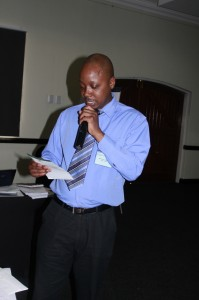 Chair Session VII: Mr Taku Fundira, Studies in Poverty and Inequality Institute SPII